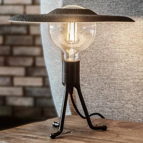 UMAGE Shade lampada da tavolo nera/feltro