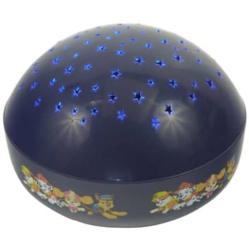 Projekcyjna lampka nocna LED Paw Patrol, niebieska