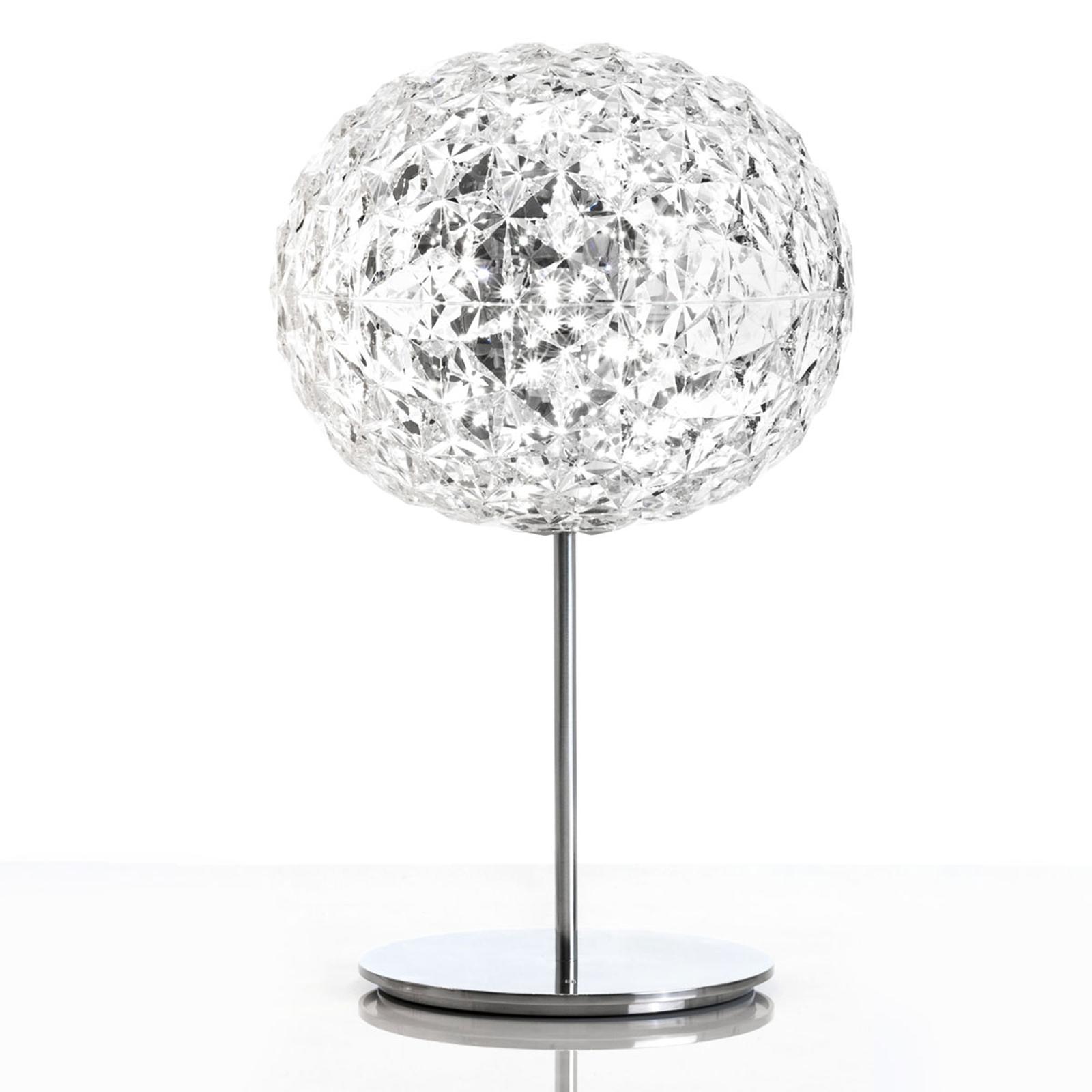 Kartell Planet LED-Tischlampe mit Fuß, transparent