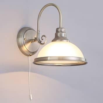 Nástěnná lampa Alicia v klasickém stylu
