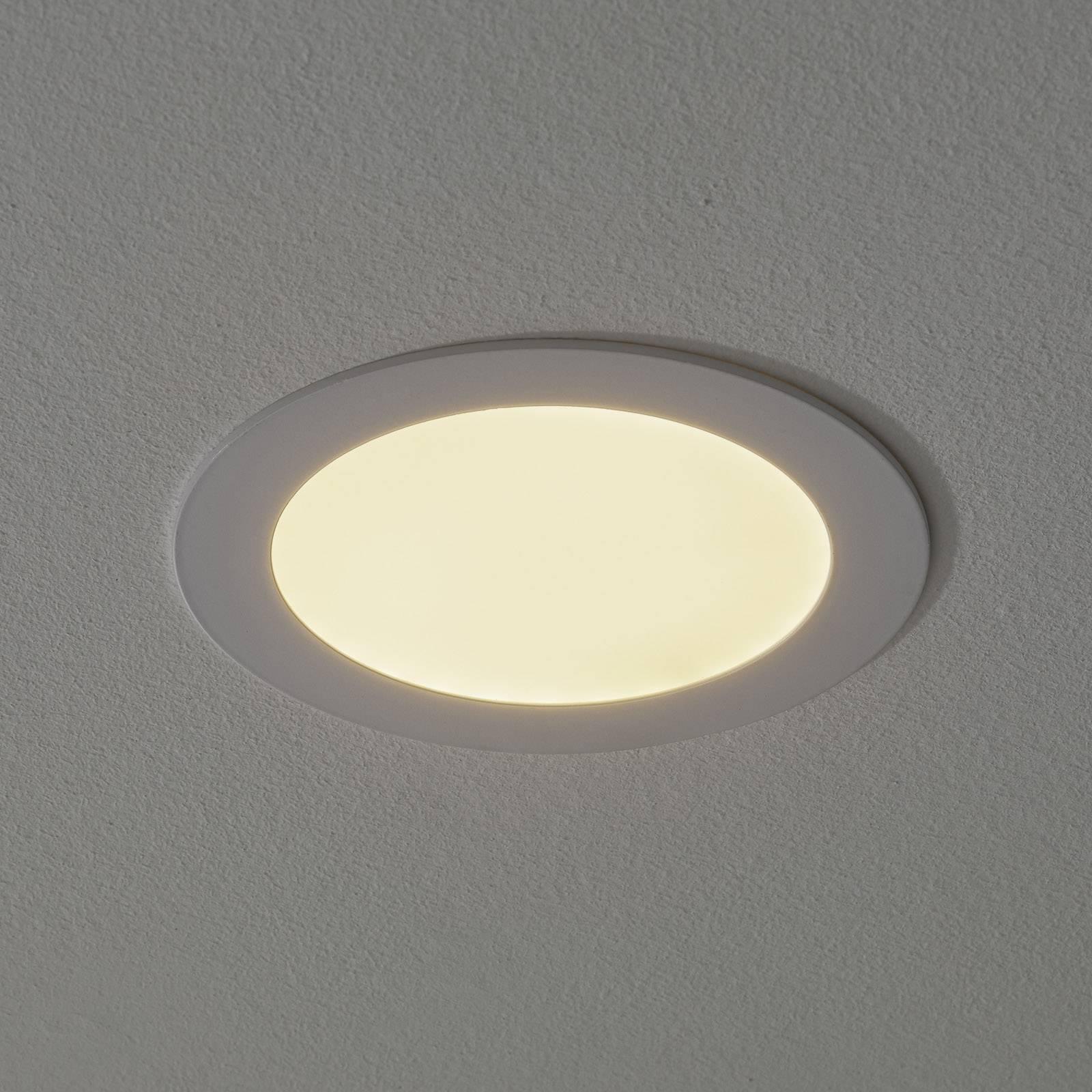 Lampada LED da incasso Fueva-Connect 17 cm bianca