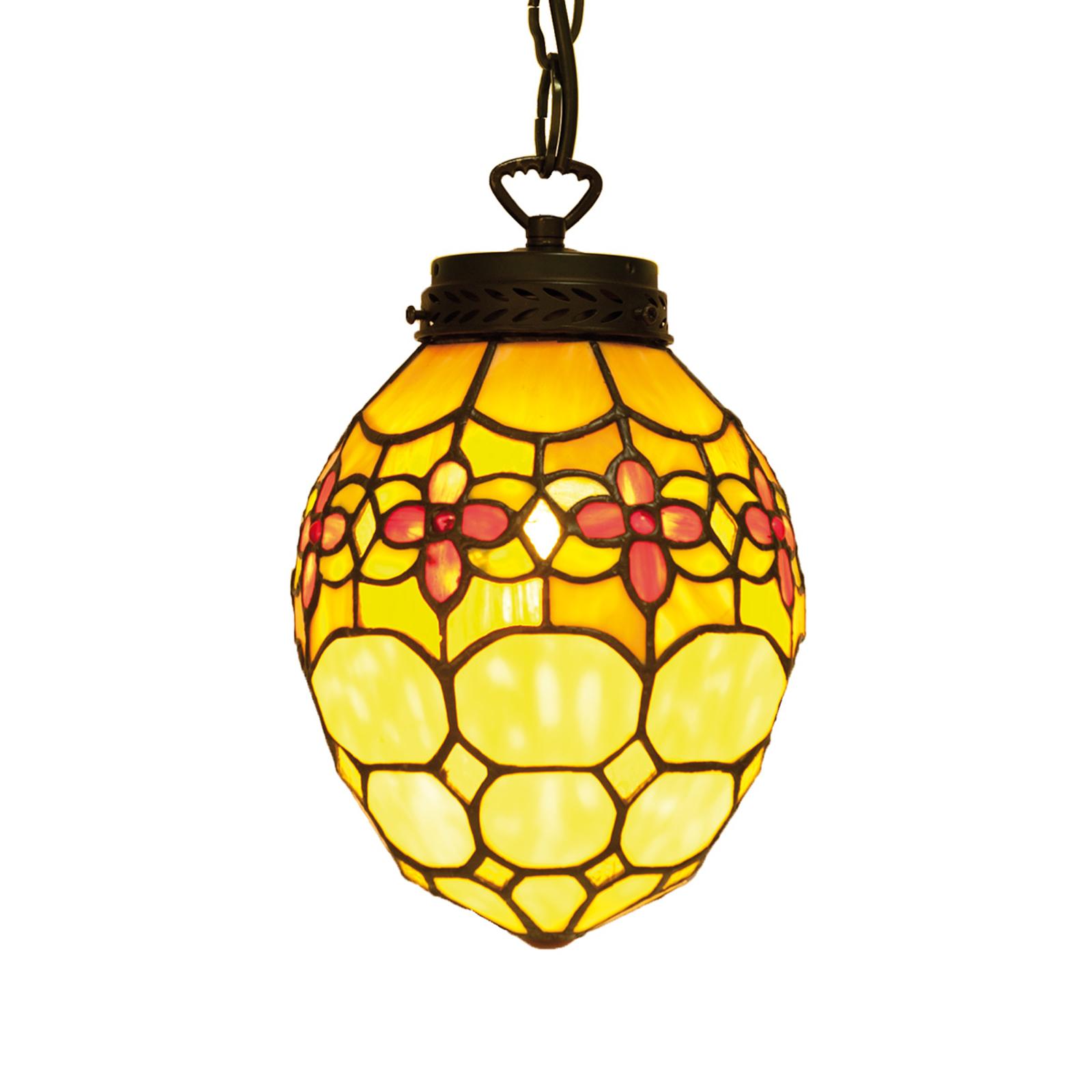 Carla – lampa wisząca w stylu Tiffany
