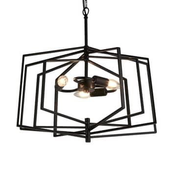 Lámpara colgante Slinky, 3 luces, Ø 50 cm