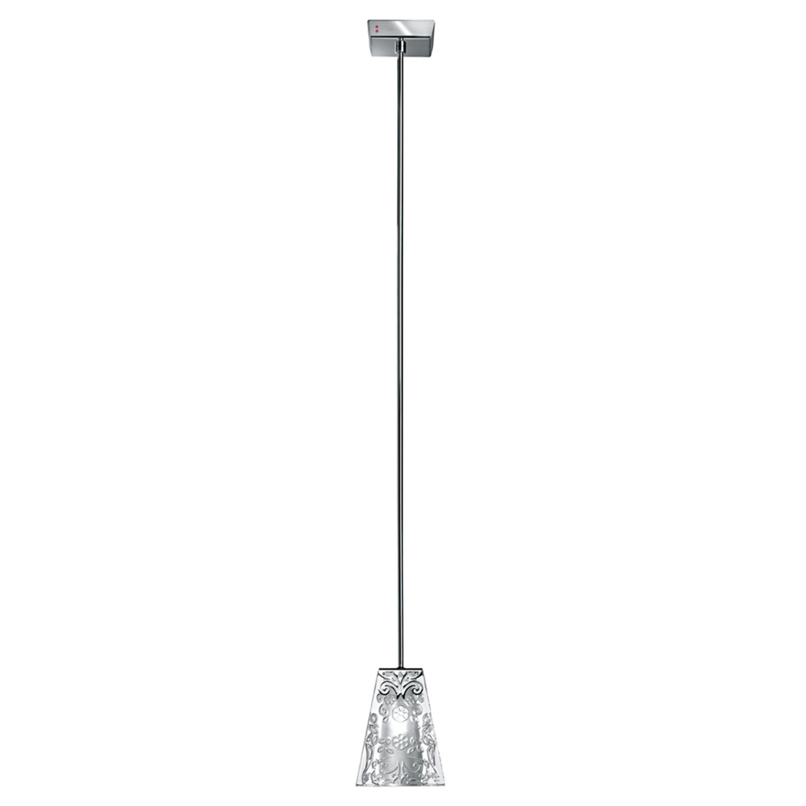 Fabbian Vicky – jedno-plameňová závesná lampa