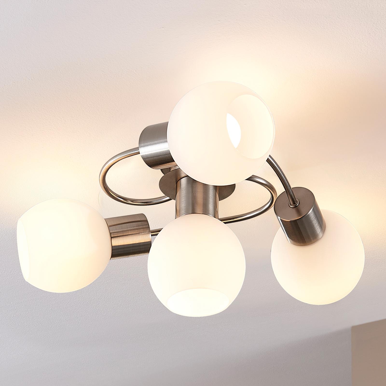 Elegante lámpara LED de techo Ciala