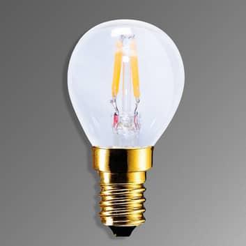E14 2,2W 922 LED Glühlampe in Kohlefadenoptik