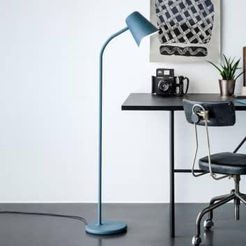 Lampadaire de designer bleu pétrole Me