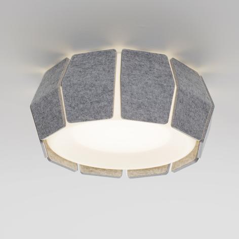 LOUM Decafelt LED-Deckenleuchte akustik Ø 54 cm