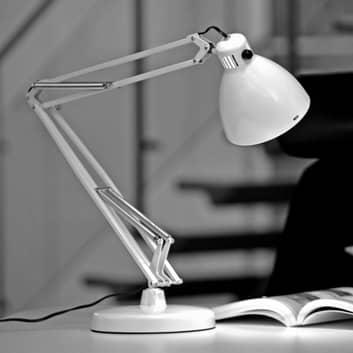 Lampa z klipsem L-1 E27 biała