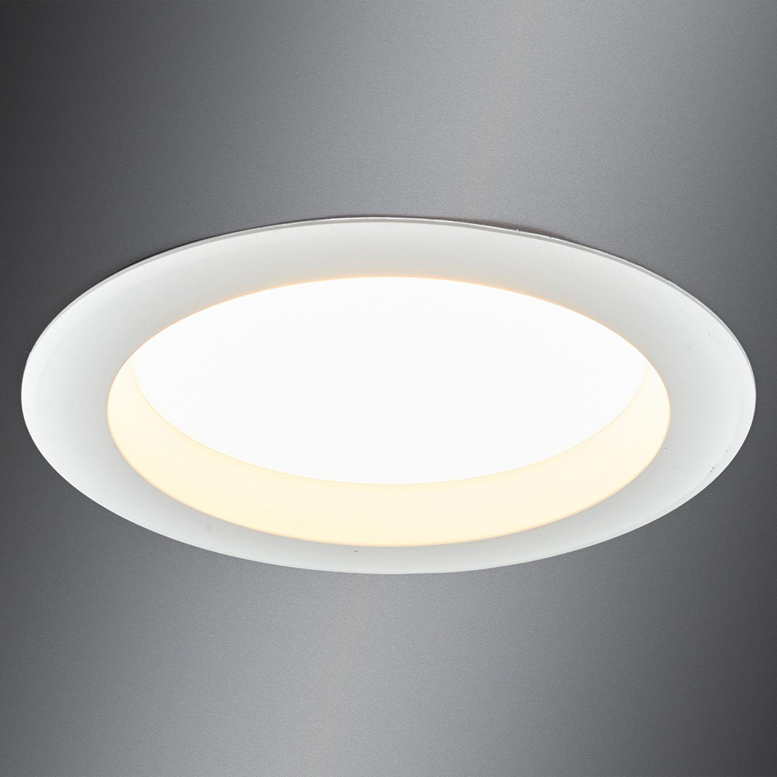 Potente downlight rotondo LED Arian, 17,4 cm 15W
