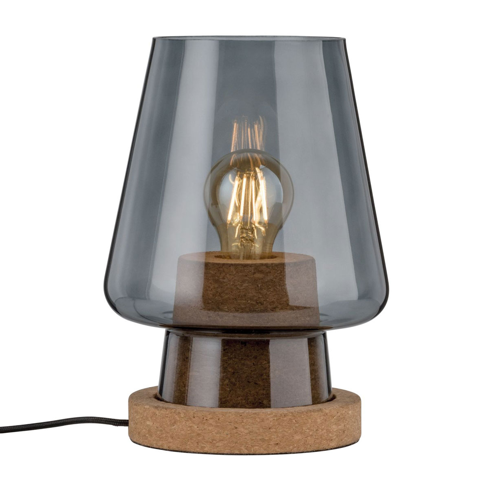 Paulmann Iben Glas-Tischlampe