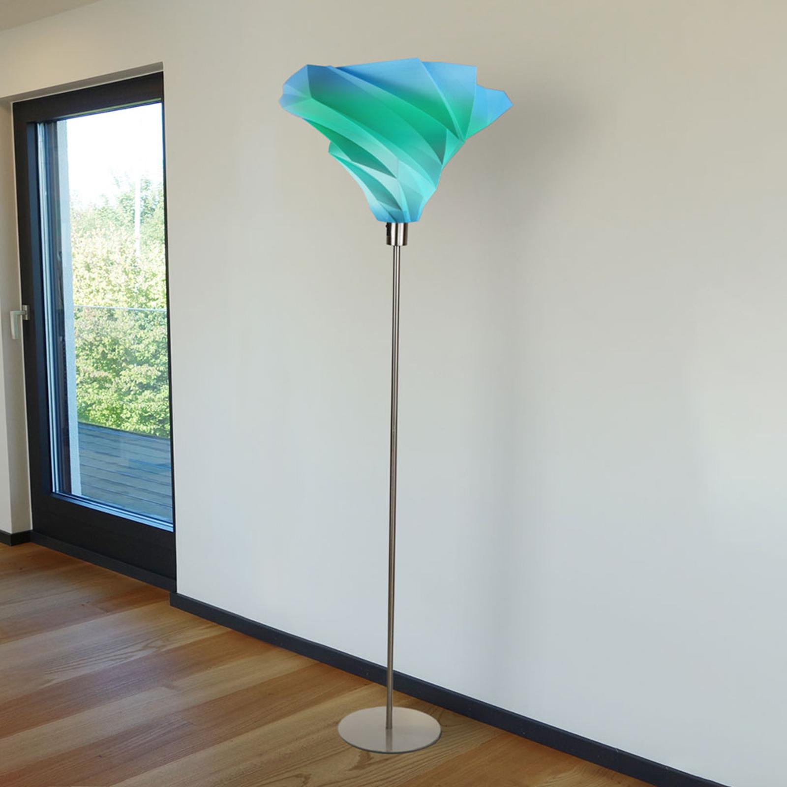 Twister design vloerlamp Ø 30cm multicolour