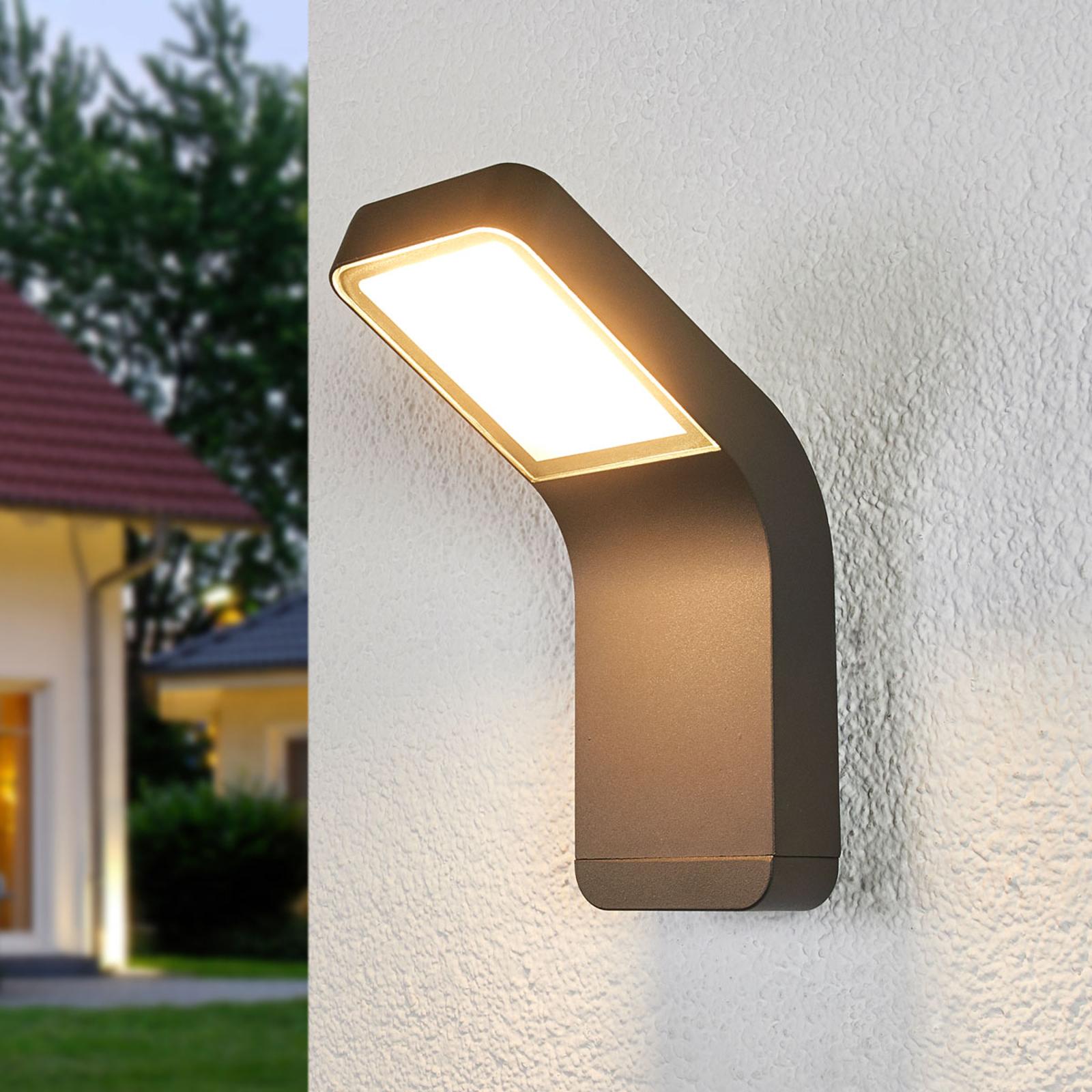 Tidsriktig LED-utevegglys Maddox