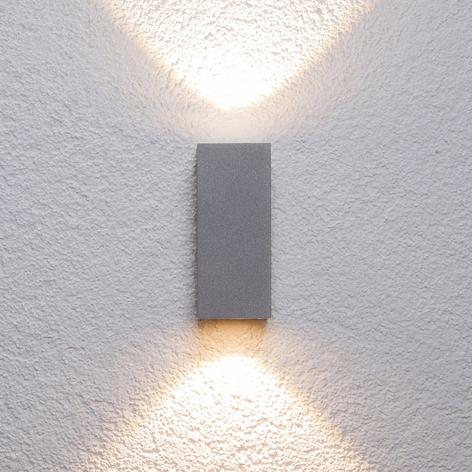 Compra Aplique LED para exteriores Tavi, marrón óxido