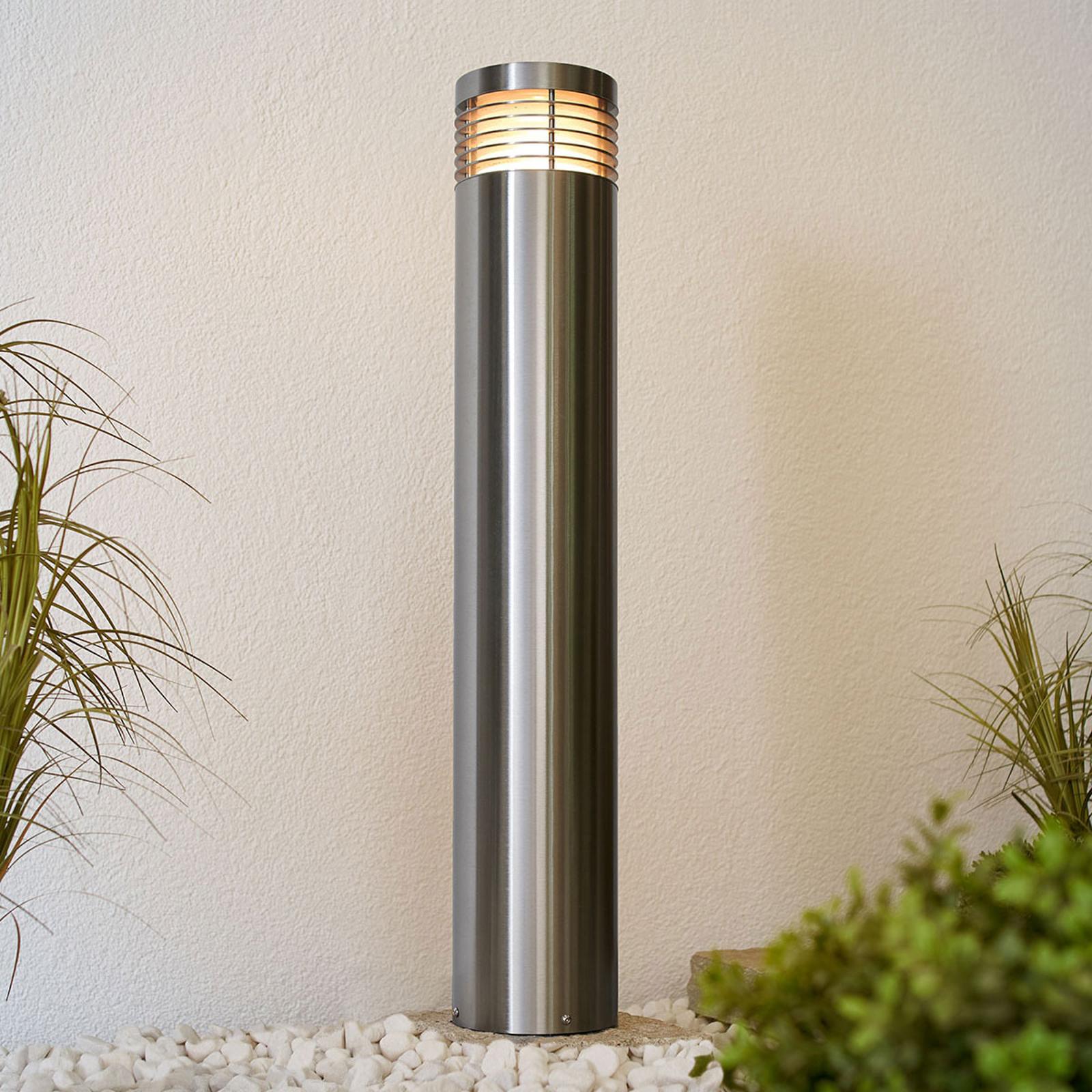 Wegelampe Tomita, Edelstahl V2A seewasserfest 90cm