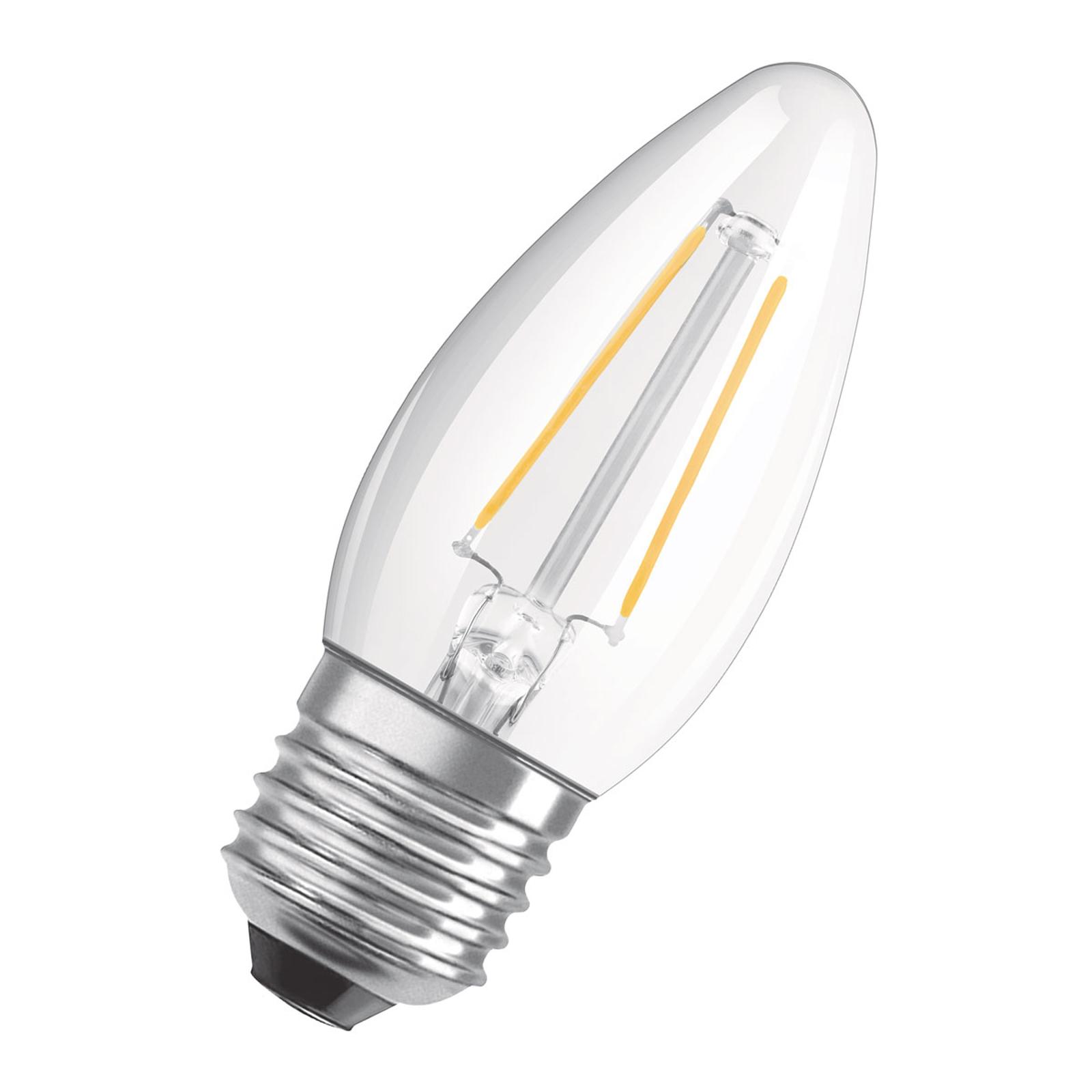 OSRAM LED-mignon E27 4W Classic B 2°700 K klar