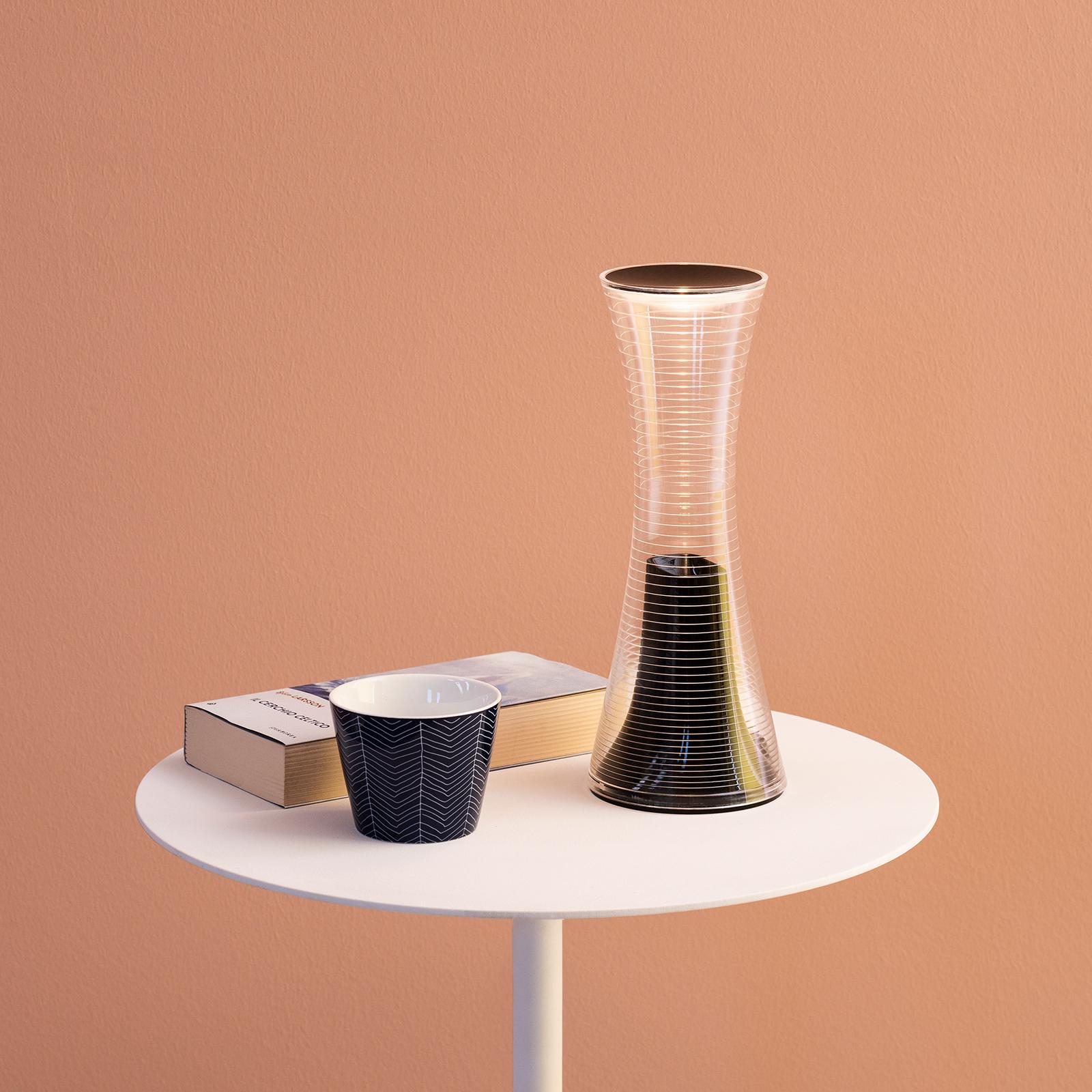 Artemide Come Together -LED-pöytälamppu, musta