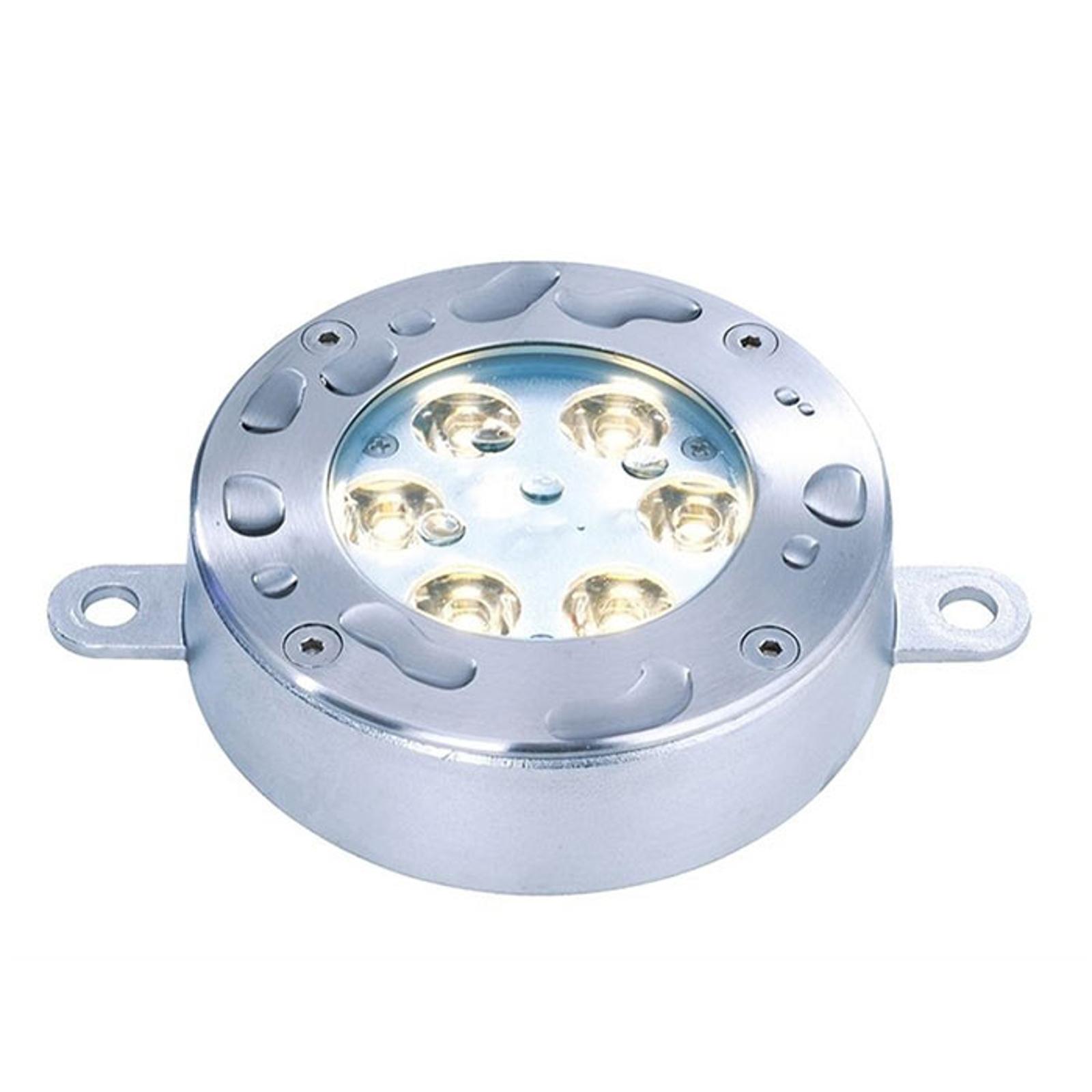 Foco de suelo sumergible LED, blanco cálido