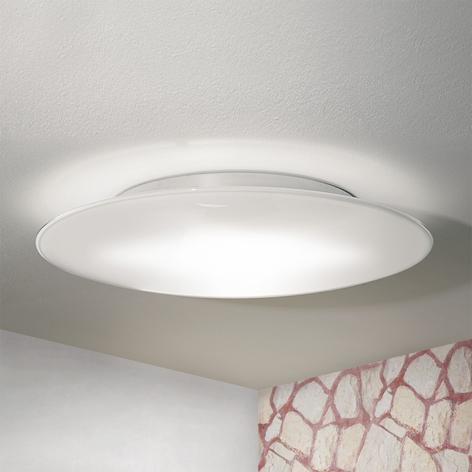 OCTOPUS - Plafón de vidrio blanco de Murano