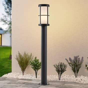 Lucande Kelini gånglampa, 90 cm, mörkgrå