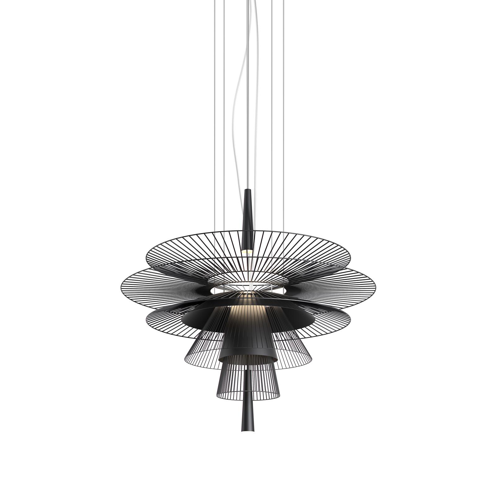 Forestier Gravity 1 hængelampe Ø68 cm sort