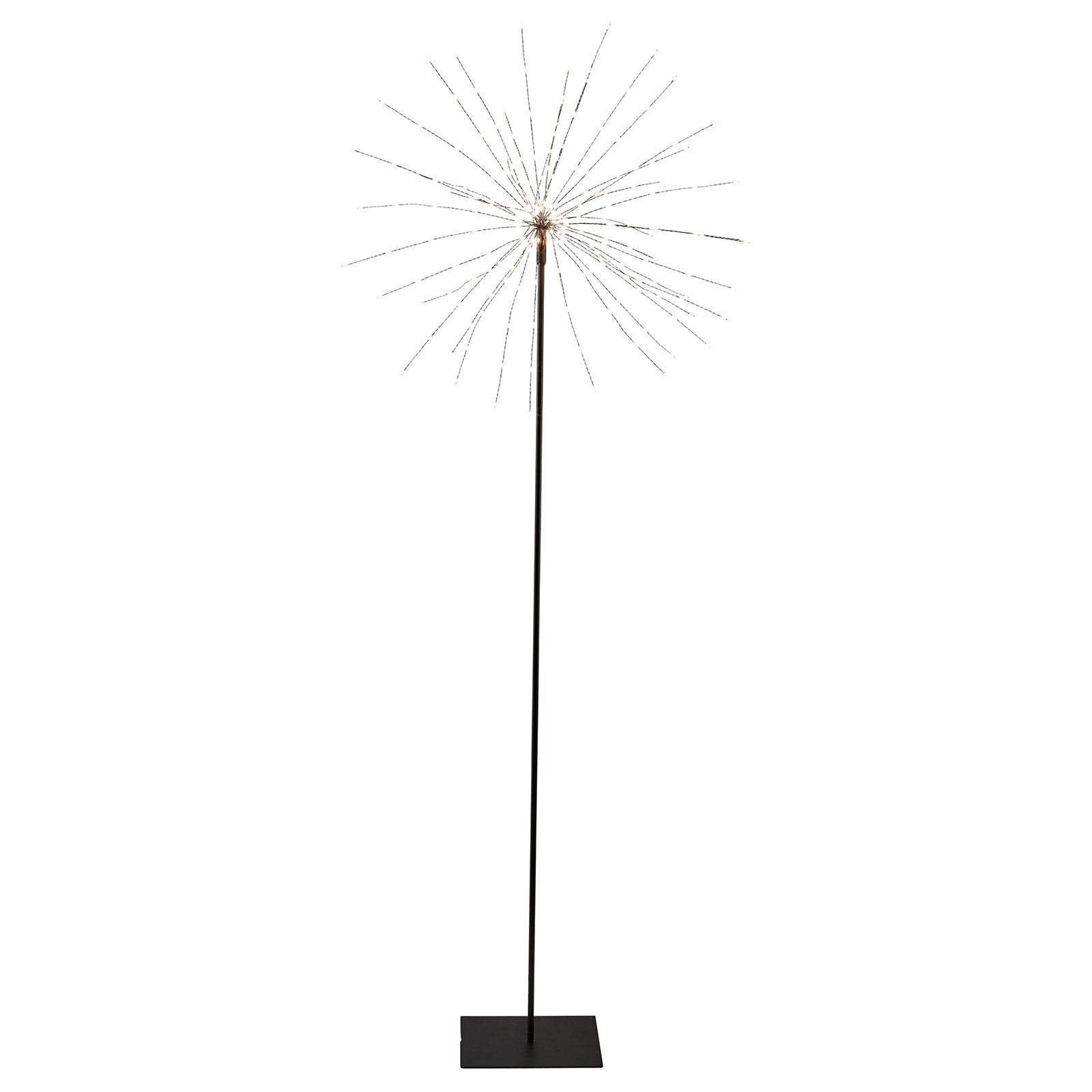 LED-dekolampe Firework i 3D, 130 cm høy