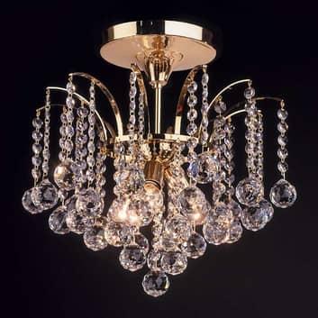 Kattovalaisin LENNARDA, kristalli/kulta 42cm