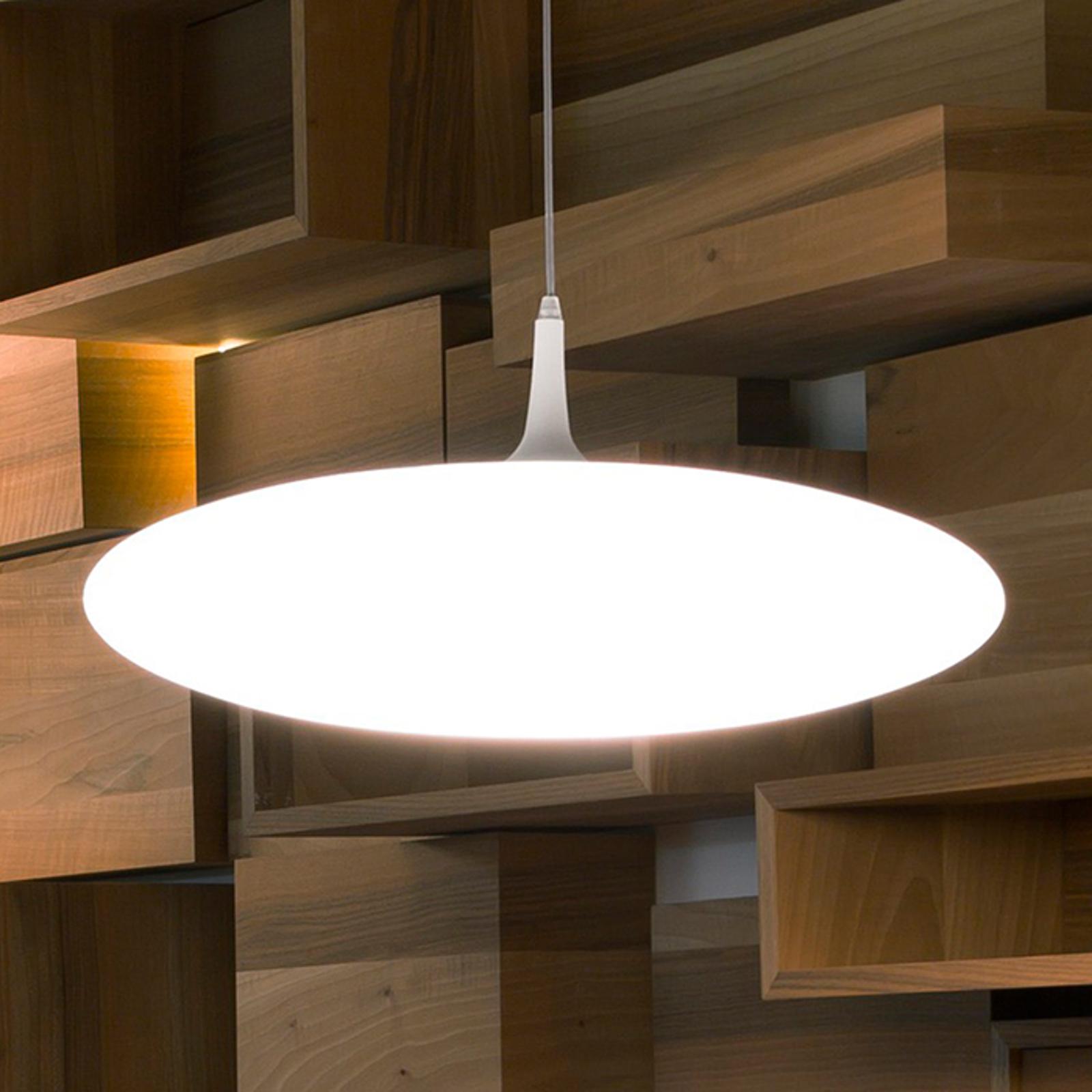 Lampa wisząca LED SQUASH z polietylenu