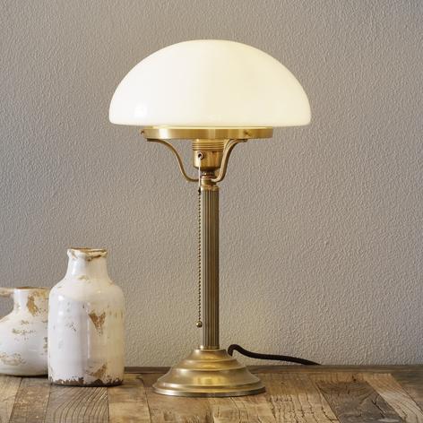 Lámpara de mesa clásica HARI de bronce