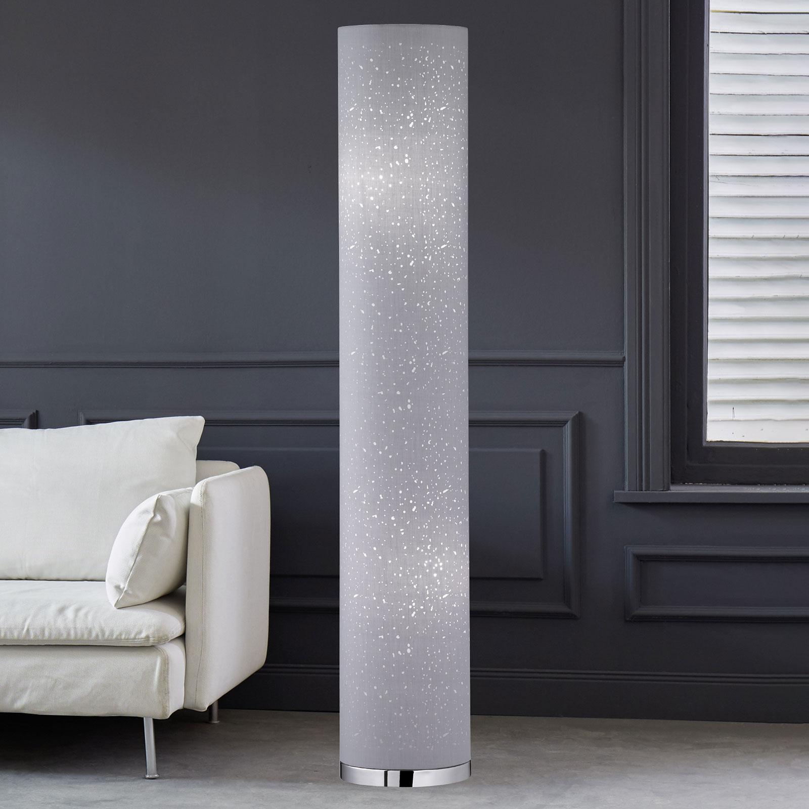 Gulvlampe Thor 110 cm i grå