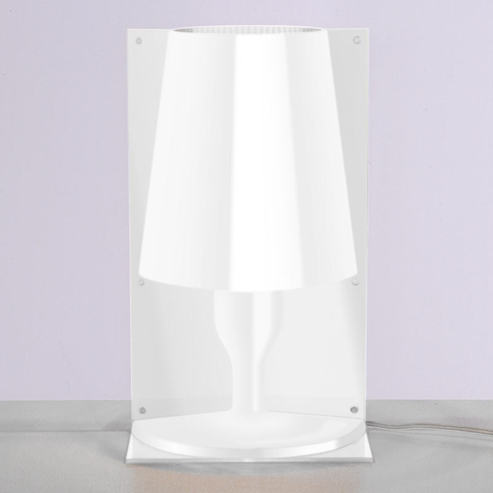 Kartell Take lampa stołowa, biała