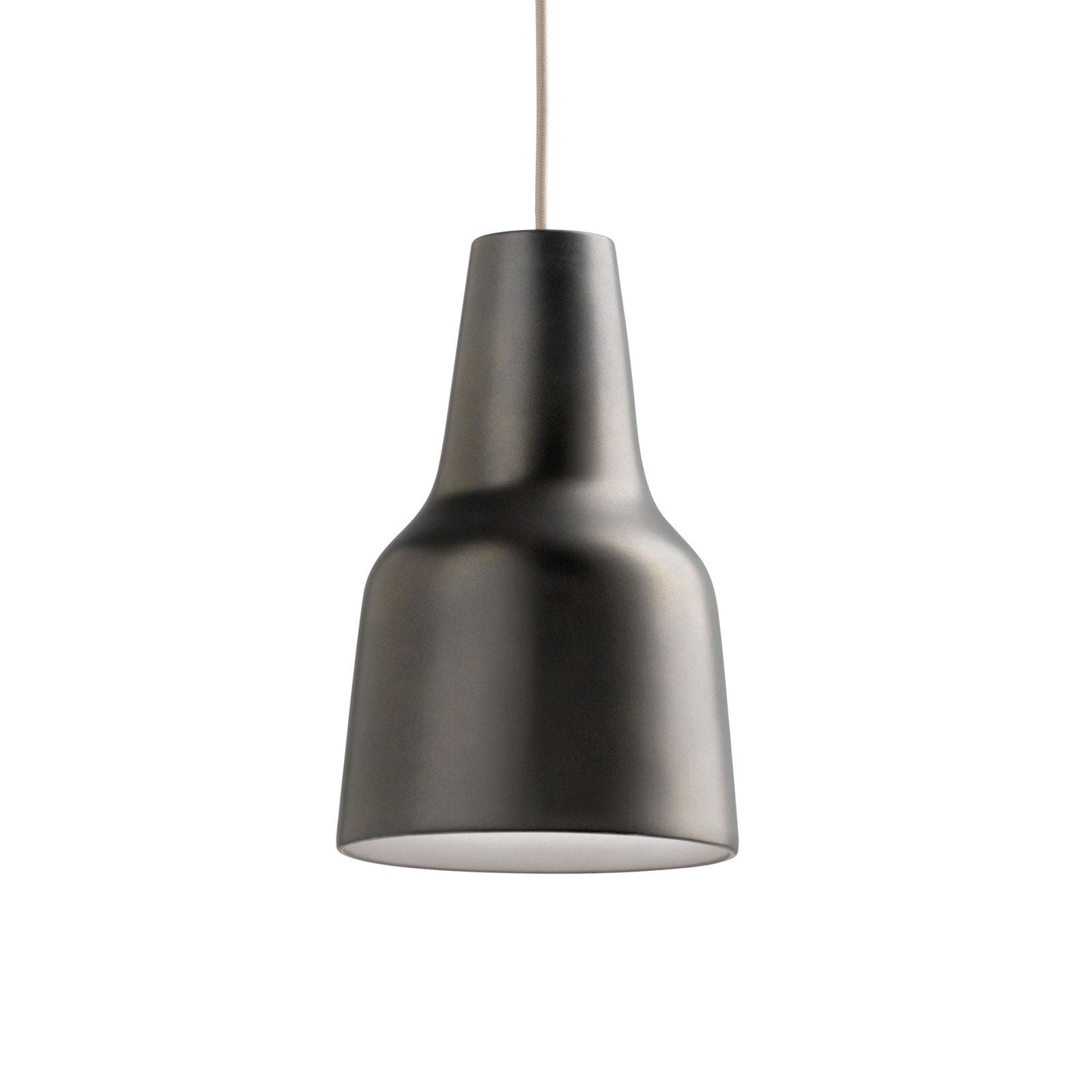Modo Luce Eva lampa wisząca Ø 27 cm ciemnobrązowa