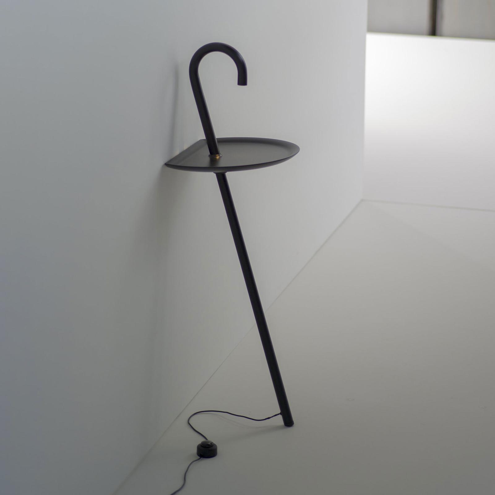 Martinelli Luce Clochard LED-designerlampe svart