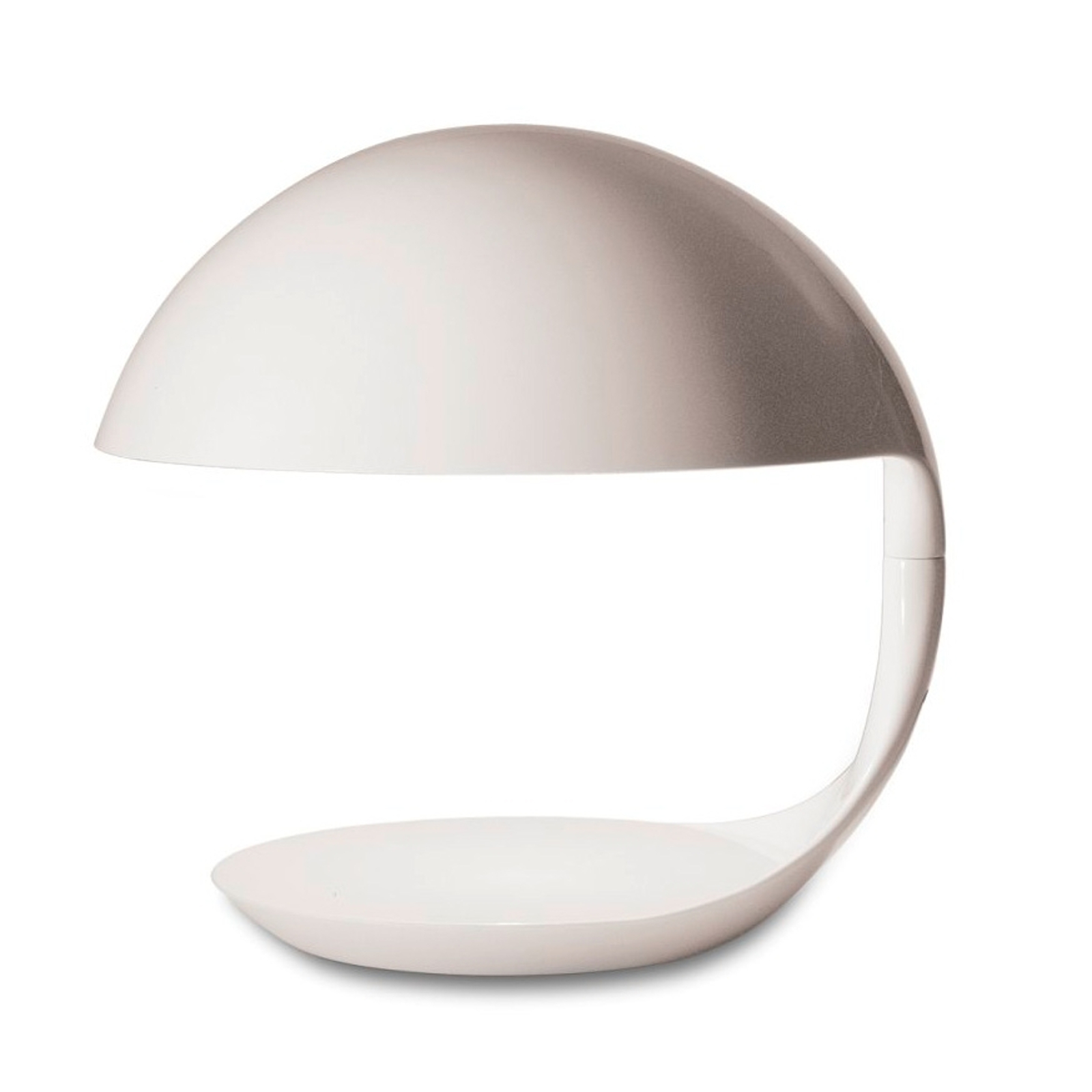 Martinelli Luce Cobra - Retro-Tischleuchte, weiß