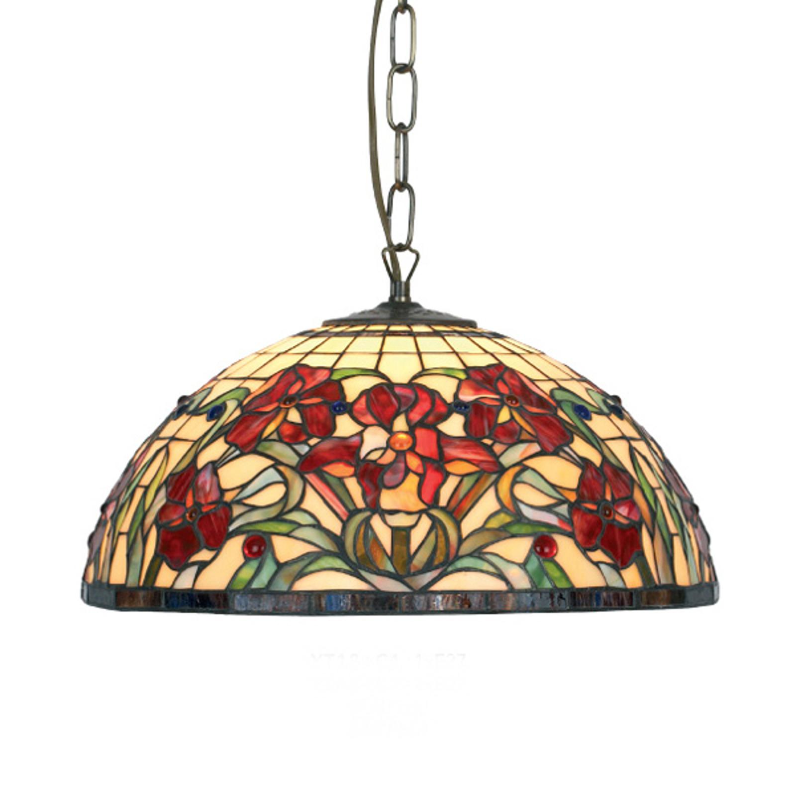 Suspension classique ELINE à 1 lampe