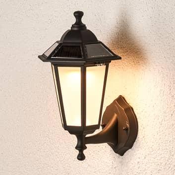 Lámpara de pared externa LED solar Kristin