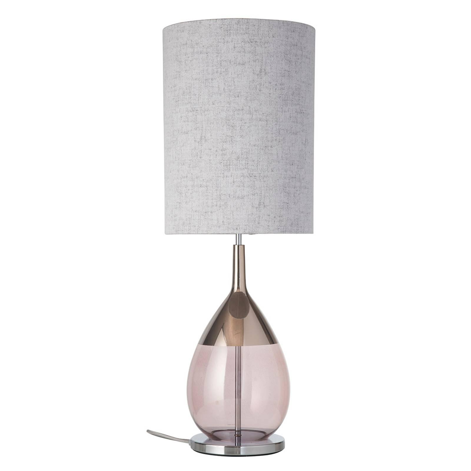 EBB & FLOW Lute lampe à poser abat-jour Marl