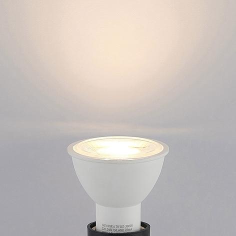 LED-heijastinlamppu GU10 7W 3000K 38°