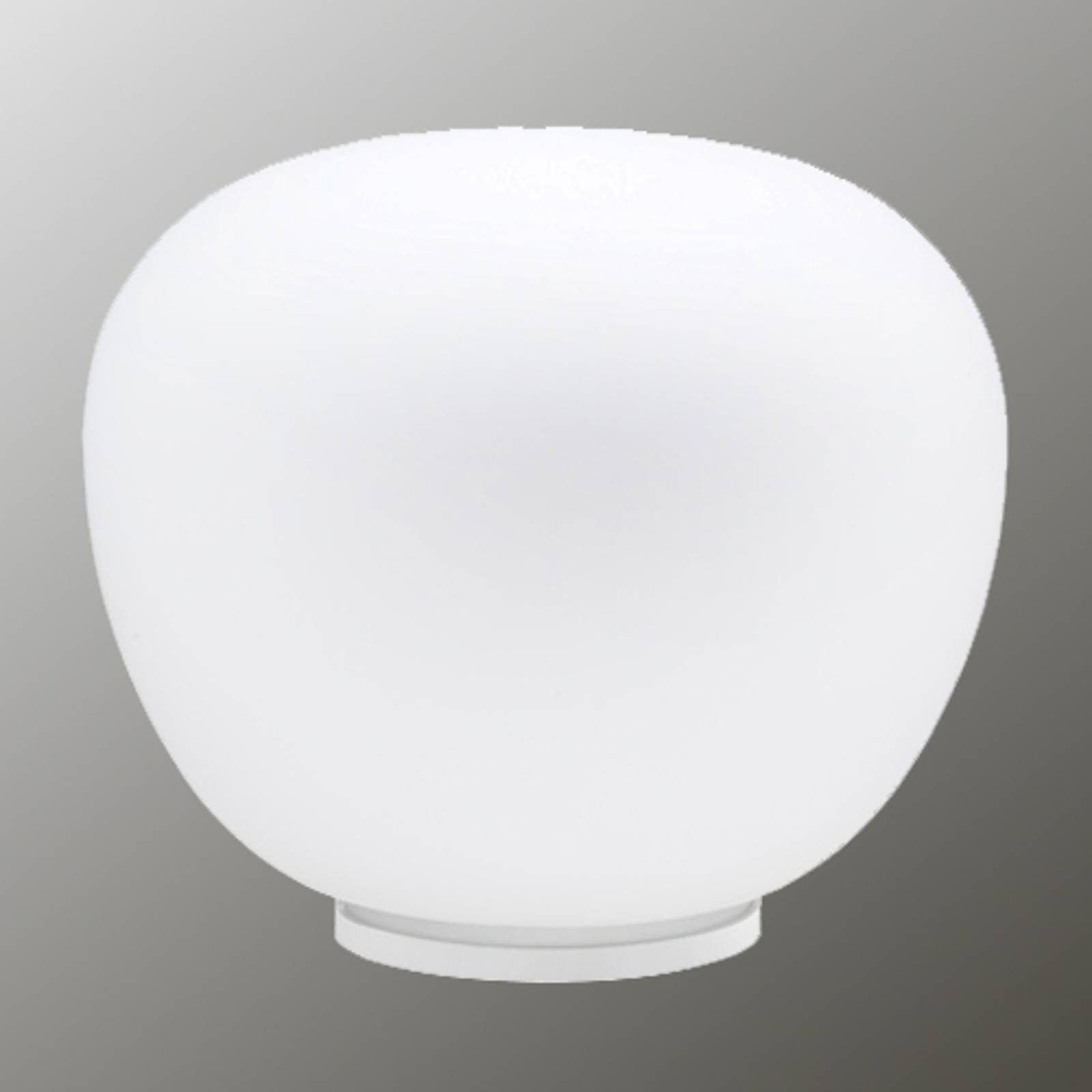 Zacht witte tafellamp MOCHI 38 cm