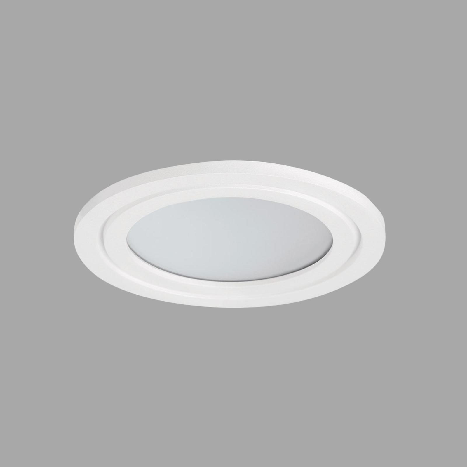 Prettus XS PRO LED-Einbauspot m. Abdeckung, 3.000K