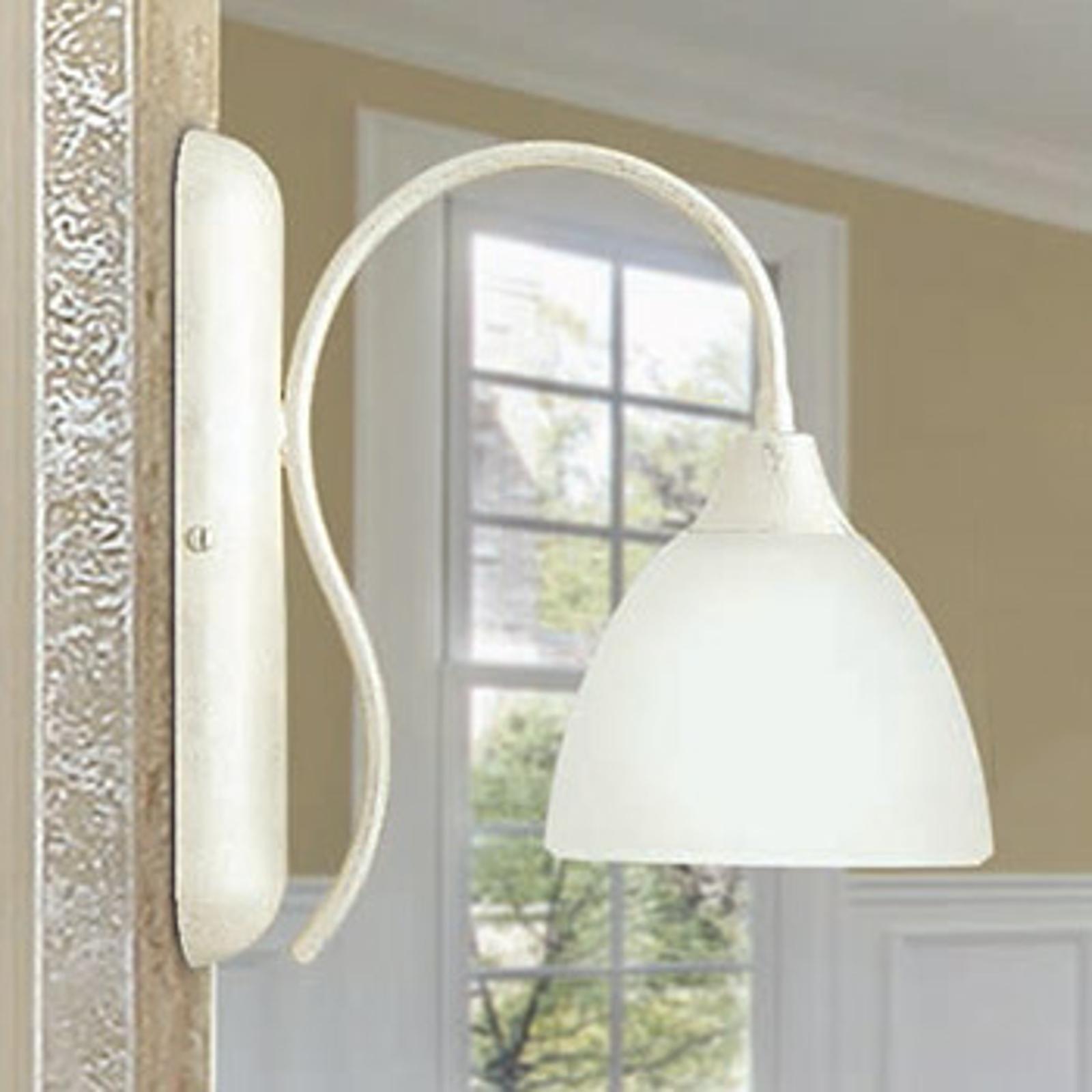 Naar beneden stralende wandlamp Antonella