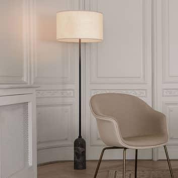 GUBI Gravity lampa podłogowa szary marmur/kremowa