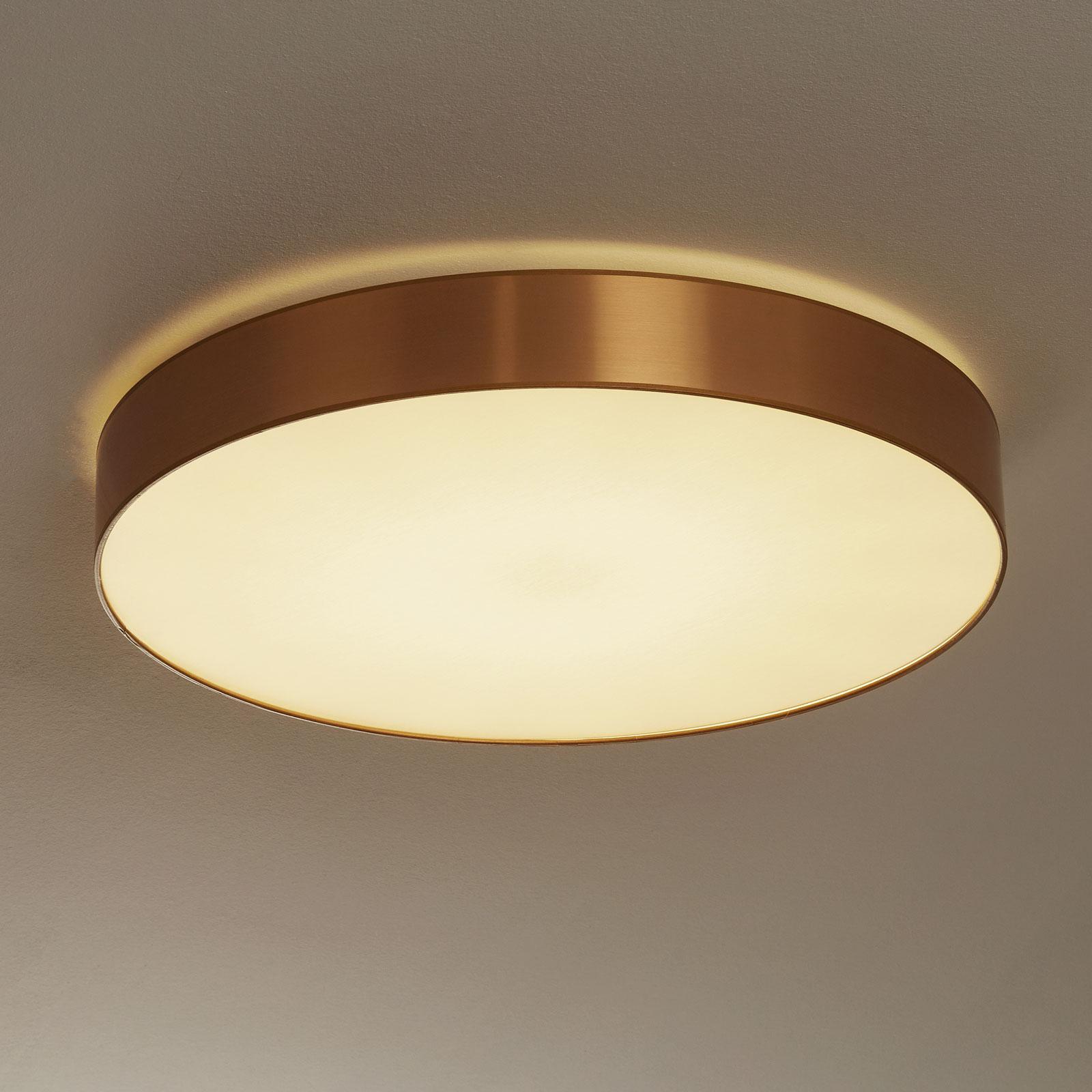 Lampa sufitowa Aurelia ściemniana złoto 60 cm