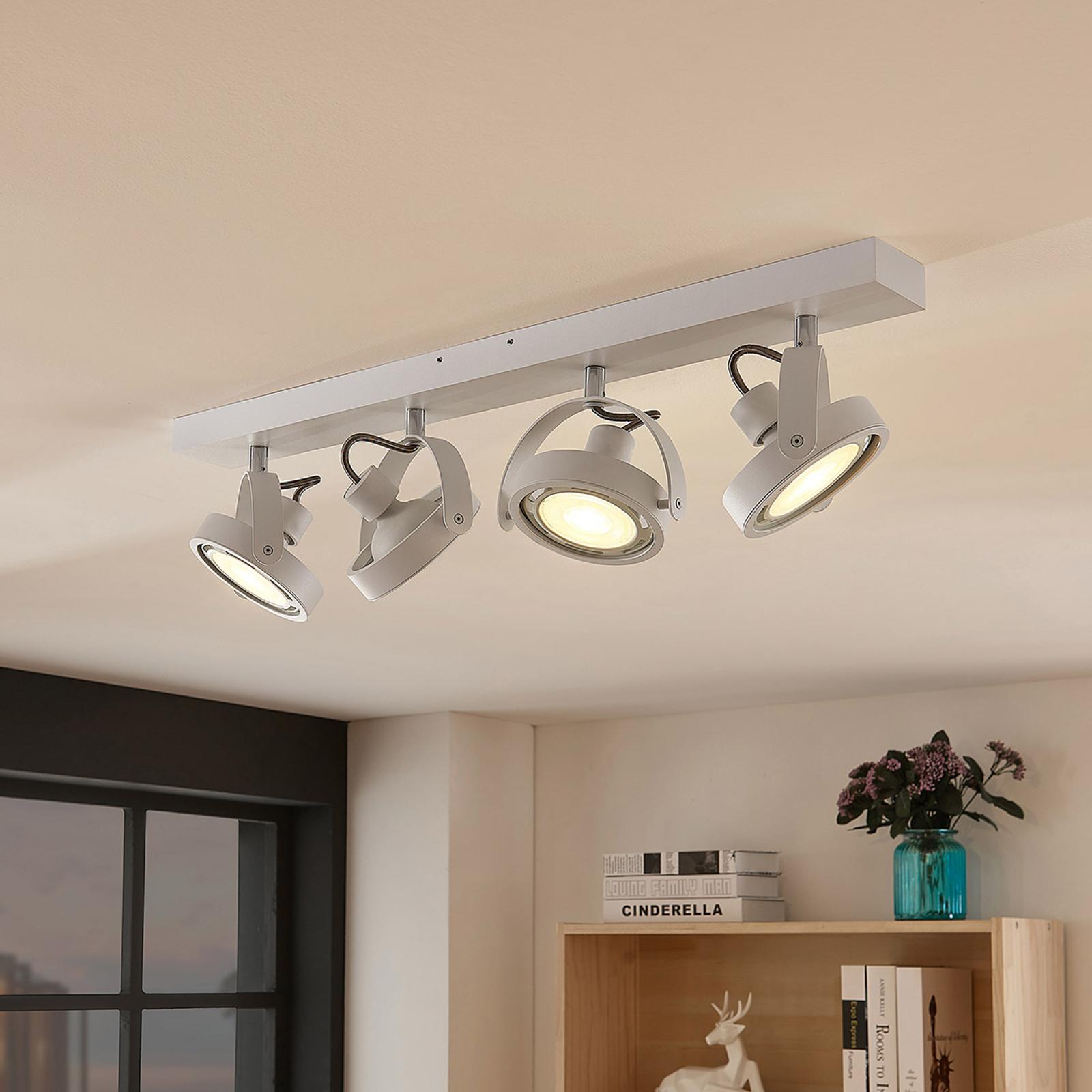Munin LED-spot, dimbar, hvit, 4-lyskilder
