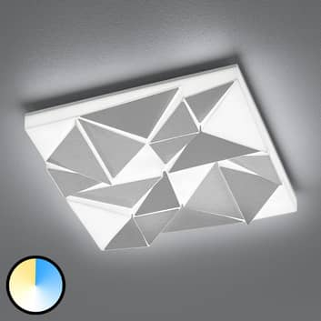 LED-taklampe Trinity, 40 x 40 cm