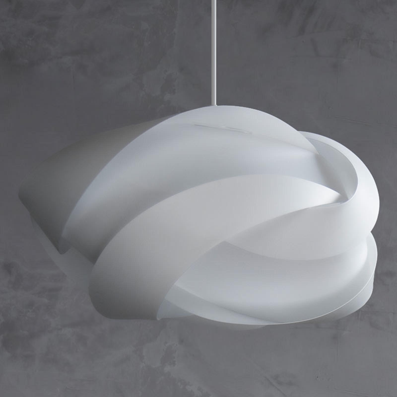 UMAGE Ribbon medium lámpara colgante blanca