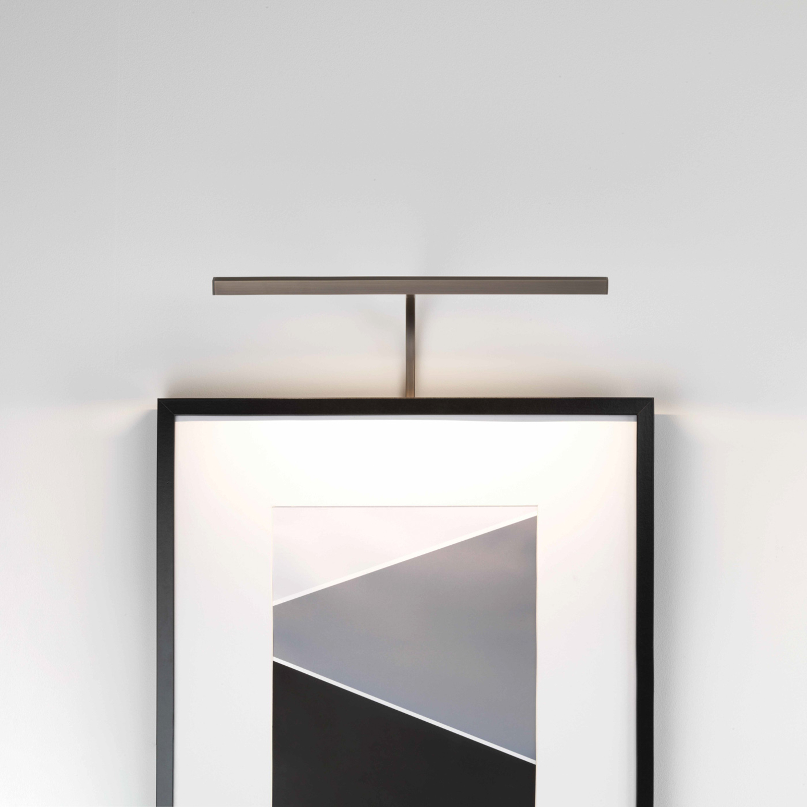 Astro Mondrian Frame Mounted 400 applique bronzo