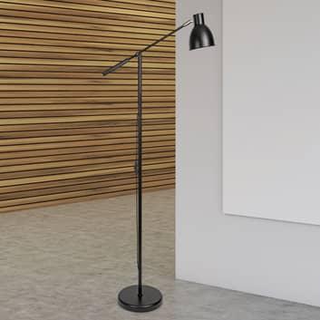 Lampa podłogowa MAULfinja w matowej czerni