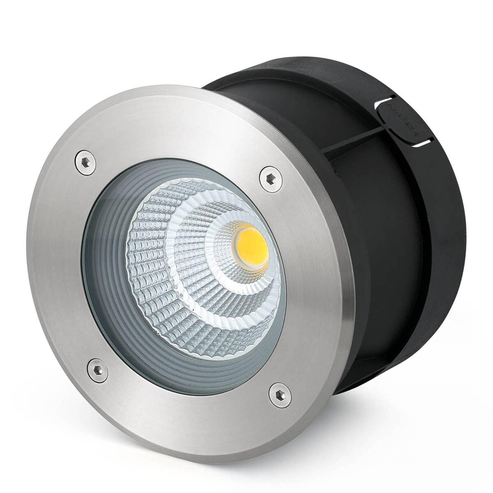 LED grondspot inbouwl. Suria-24 m, 24° stralingsh.