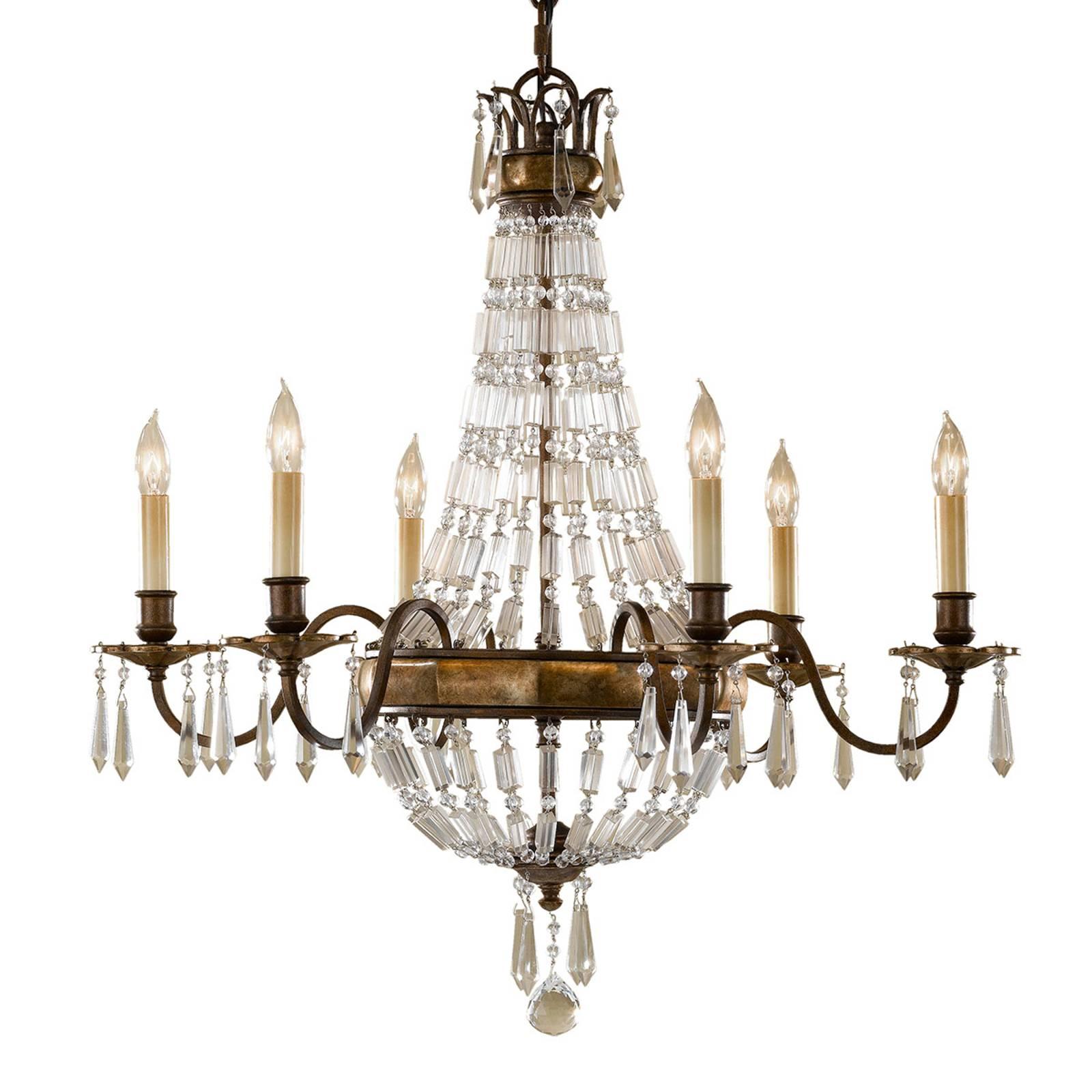 BELLINI - żyrandol w staroświeckim stylu